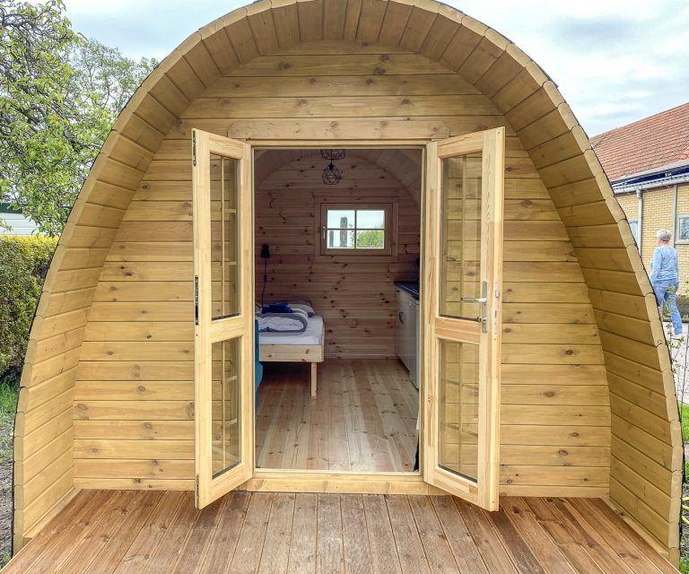 Camping pod Helmdune op Terschelling_
